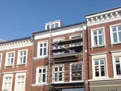 Sølystgade 24, Aarhus - Stillads og vinduesudskiftning