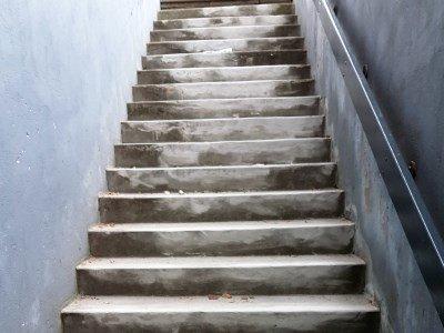 Murerarbejde trappe i Horsens efter