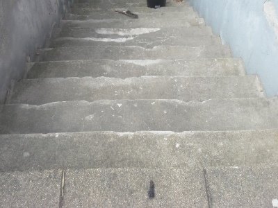 Murerarbejde trappe i Horsens før